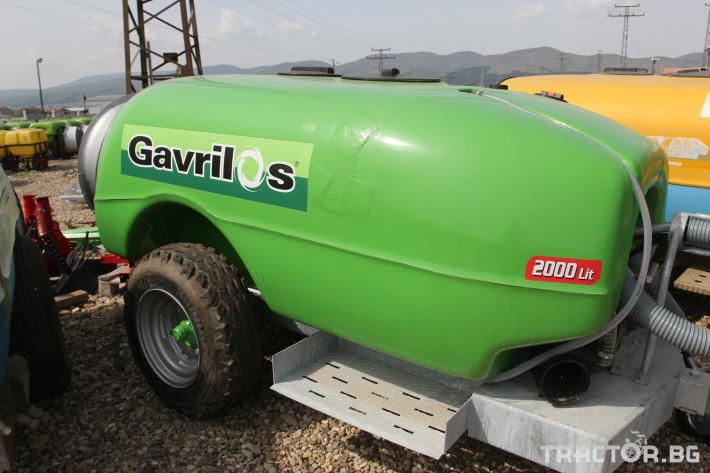 Пръскачки Вентилаторна пръскачка Gavrilos 2000 л. 3 - Трактор БГ