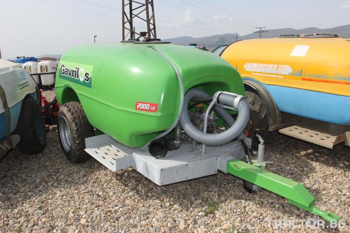 Пръскачки Вентилаторна пръскачка Gavrilos 2000 л. 1 - Трактор БГ