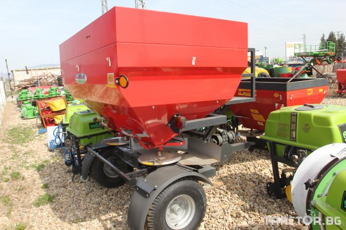 Торачки Прикачна торачка Gencler 2500 л. 0 - Трактор БГ