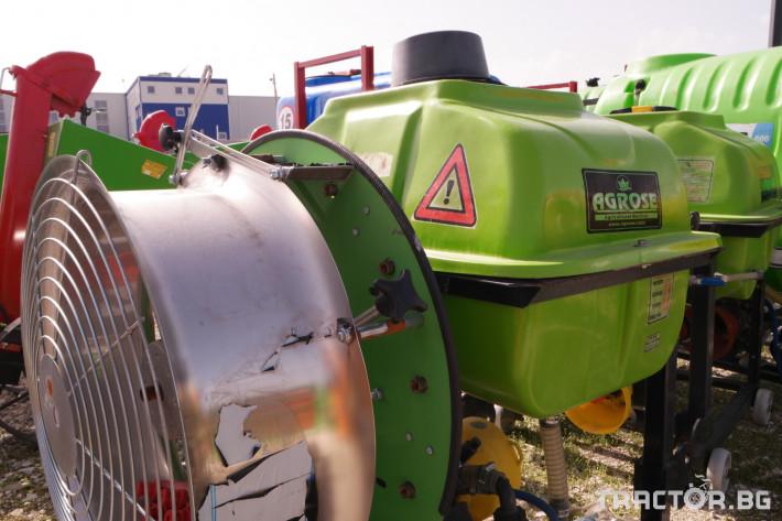 Пръскачки Навесна вентилаторна пръскачка 0 - Трактор БГ