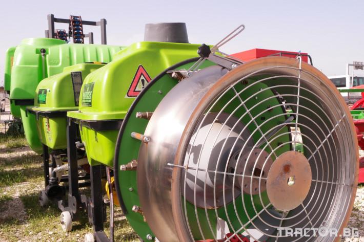 Пръскачки Навесна вентилаторна пръскачка 1 - Трактор БГ