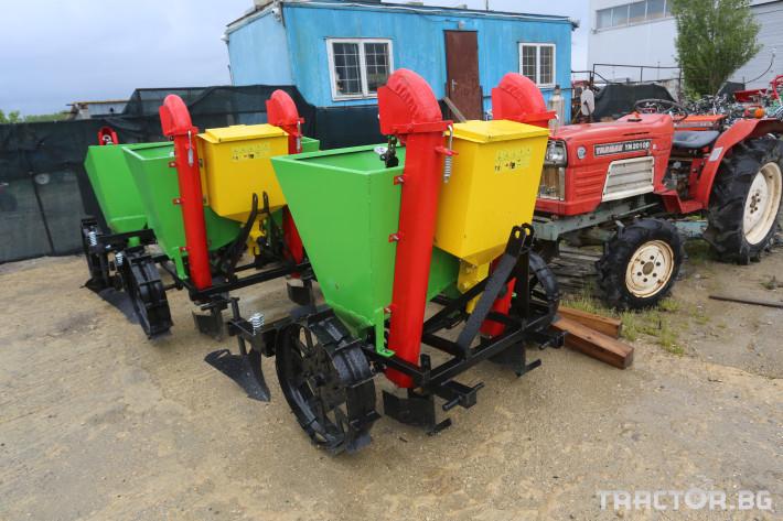 Машини за зеленчуци Картофосадачка двуредова 0 - Трактор БГ