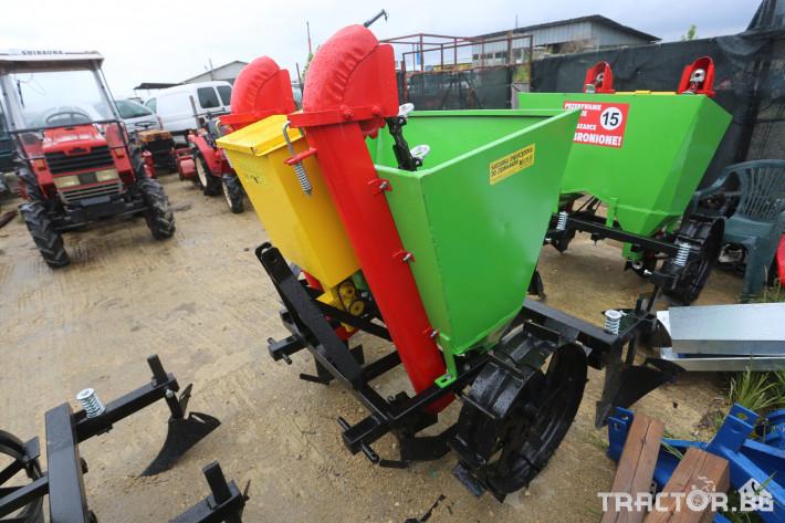 Машини за зеленчуци Картофосадачка двуредова 2 - Трактор БГ