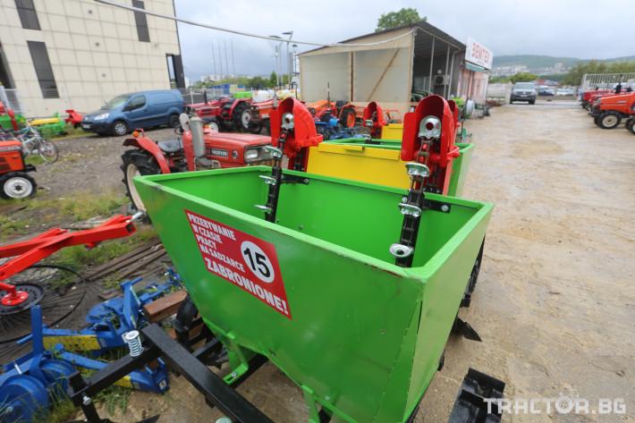 Машини за зеленчуци Картофосадачка двуредова 3 - Трактор БГ