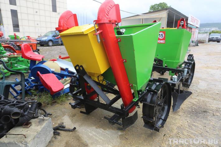 Машини за зеленчуци Картофосадачка двуредова 4 - Трактор БГ