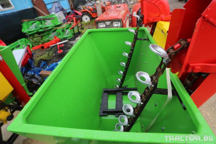 Машини за зеленчуци Картофосадачка двуредова 6 - Трактор БГ