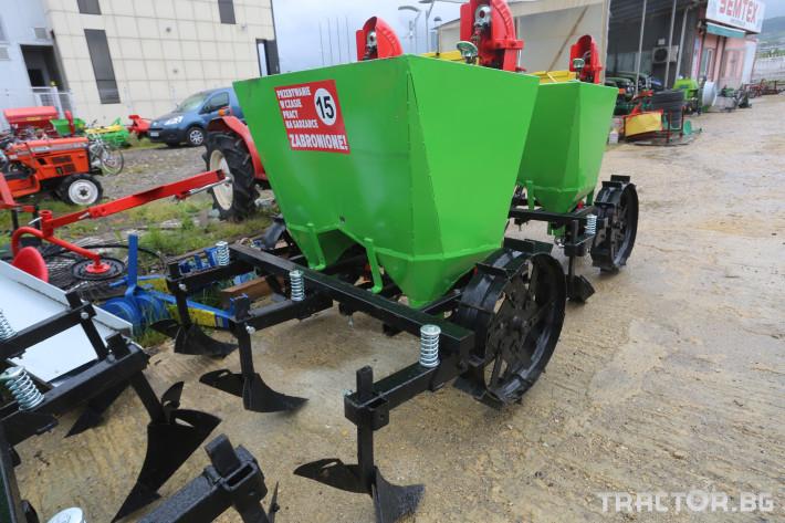 Машини за зеленчуци Картофосадачка двуредова 1 - Трактор БГ