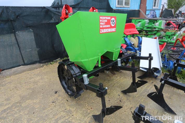 Машини за зеленчуци Картофосадачка двуредова 7 - Трактор БГ