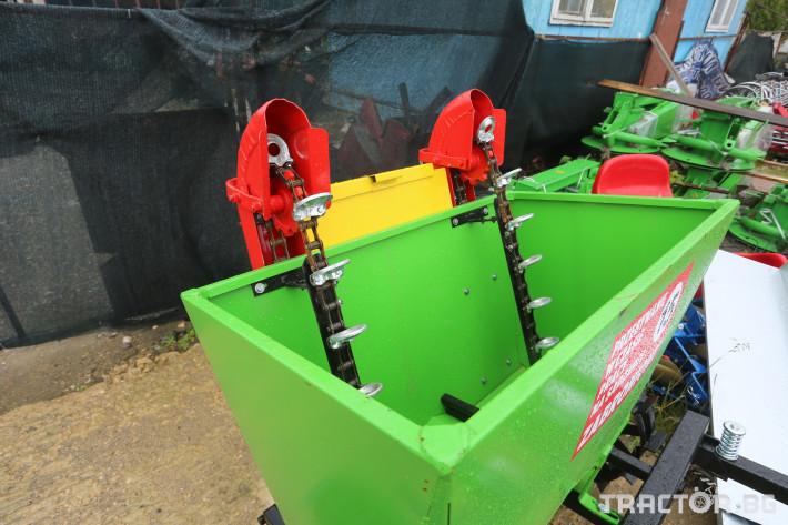 Машини за зеленчуци Картофосадачка двуредова 9 - Трактор БГ