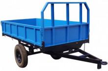 Ремарке за трактор прикачно AGRIDEA 1500 кг. със спирачки