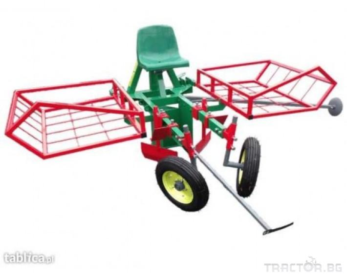 Сеялки Сеялка за овощни дръвчета от разсад MCMS 1-редова 0 - Трактор БГ