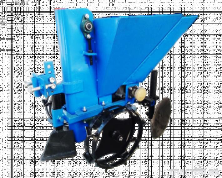 Други Картофосадачка 1-редова с торовнасяне за мотокултиватор 0 - Трактор БГ